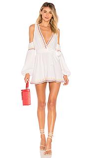 Платье с прорезями на плечах barney - Tularosa