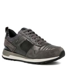 Женские кроссовки GEOX D643FA коричнево-серый