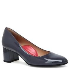 Туфли PAS DE ROUGE R219 темно-серый
