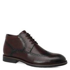 Ботинки KISS MOON YA-019 темно-коричневый