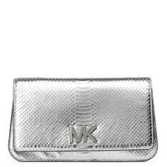 Клатч MICHAEL KORS 30T7MOXC7K серебряный