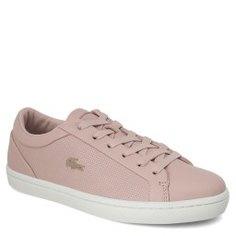 Кеды LACOSTE CAW0065 STRAIGHTSET розовый