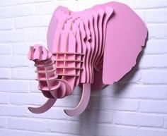 """Предмет декора """"Слон Розовый"""" Mango"""