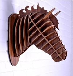 """Предмет декора """"Лошадь Коричневый"""" Mango"""