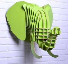 """Предмет декора """"Слон зеленый"""" Mango"""