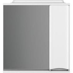 Зеркальный шкаф Am.Pm Like 80 см, с подсветкой, правый белый глянец (M80MPR0801WG) Am.Pm.