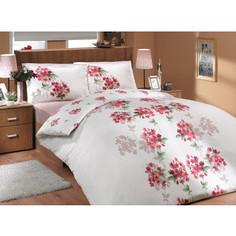 Комплект постельного белья Hobby home collection 1,5 сп, ранфорс, Viyella, красный (1501000288)