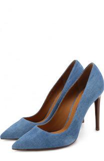 Туфли из денима на шпильке Ralph Lauren