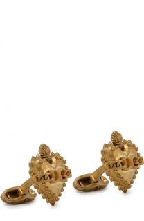 Запонки Dolce & Gabbana