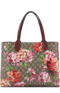 Сумка-тоут GG Blooms Gucci