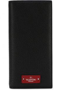 Кожаное портмоне с отделениями для кредитных карт Valentino