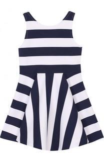 Мини-платье джерси в полоску Polo Ralph Lauren