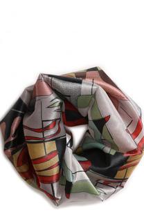 Шелковый шарф-снуд Giorgio Armani