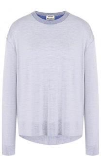 Пуловер с круглым вырезом из смеси вискозы и шерсти Acne Studios
