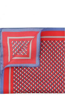 Шелковый платок с узором Pal Zileri