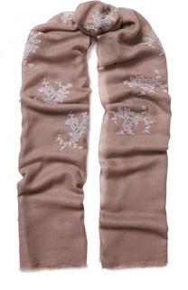 Кашемировый платок с кружевной отделкой Vintage Shades