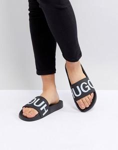 Сандалии с логотипом HUGO - Черный