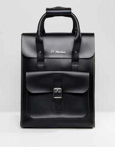 Черный кожаный рюкзак Dr.Martens - Черный