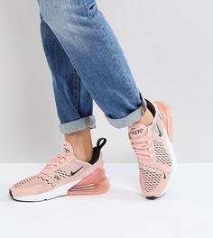 Розовые кроссовки Nike Air Max 270 - Розовый