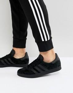 Черные кроссовки adidas Originals Gazelle CQ2809 - Черный