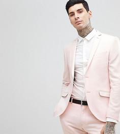 Твидовый пиджак скинни Heart & Dagger Wedding - Розовый