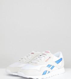 Белые нейлоновые кроссовки Reebok Leisure Pack Classic CN5621 эксклюзивно для ASOS - Белый
