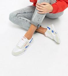 Нейлоновые кроссовки Reebok Leisure Pack Classic эксклюзивно для ASOS - Белый