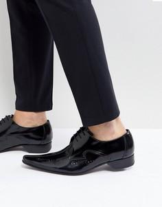 Туфли с лазерной отделкой Jeffery West Pino - Черный