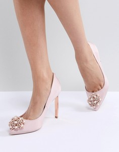 Светло-розовые туфли с отделкой Ted Baker - Розовый
