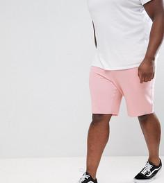 Трикотажные шорты Jack & Jones Originals PLUS - Розовый