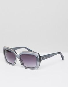 Серые солнцезащитные очки Christian La Croix - Золотой