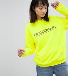 Ярко-желтый свитшот с логотипом Puma эксклюзивно для ASOS - Желтый