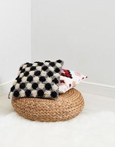 Чехол на подушку с помпонами Pimkie - Мульти
