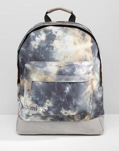 Серый рюкзак с галактическим принтом Mi‑Pac - Серый