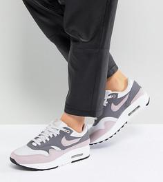 Розово-серые премиум-кроссовки Nike Air Max 1 - Розовый