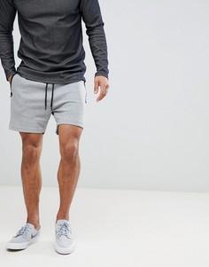 Серые трикотажные шорты с карманом Jack & Jones Core - Серый