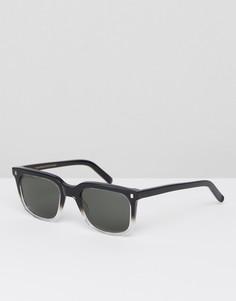 Солнцезащитные очки в круглой оправе Monokel - Черный