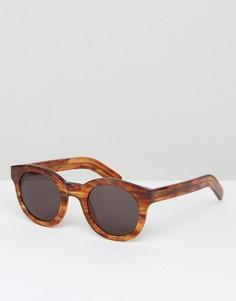 Круглые солнцезащитные очки Monokel Eyewear Shiro - Коричневый