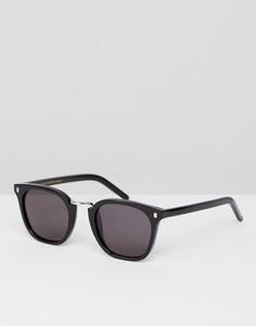 Черные квадратные солнцезащитные очки Monokel Eyewear Ando - Черный