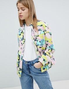 Куртка с цветочным принтом ASOS DESIGN - Мульти