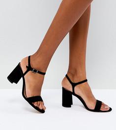 Босоножки на каблуке ASOS HALLIE - Черный