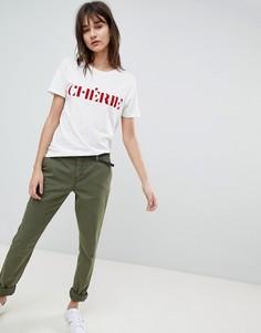 Чиносы Vero Moda - Зеленый