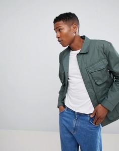 Куртка в стиле милитари Weekday Keith - Зеленый