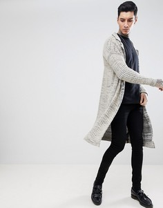 Фактурная меланжевая куртка ASOS DESIGN - Бежевый