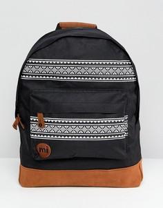 Рюкзак с нордическим принтом Mi-Pac - Черный
