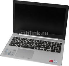 "Ноутбук DELL Inspiron 5570, 15.6"", Intel Core i5 8250U 1.6ГГц, 8Гб, 256Гб SSD, AMD Radeon 530 - 4096 Мб, DVD-RW, Linux, 5570-5304, серебристый"