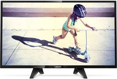 "LED телевизор PHILIPS 32PHS4132/60 ""R"", 32"", HD READY (720p), черный"