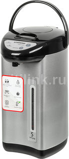 Термопот STARWIND STP5181, черный и серебристый