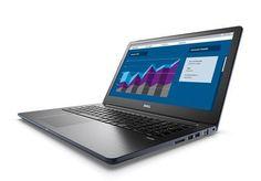 "Ноутбук DELL Vostro 5568, 15.6"", Intel Core i5 7200U 2.5ГГц, 8Гб, 256Гб SSD, Intel HD Graphics 620, Windows 10 Home, 5568-9975, темно-синий"