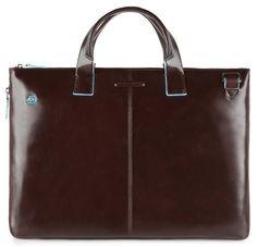 Сумка для ноутбука Piquadro Blue Square CA4021B2/MO коричневый натур.кожа